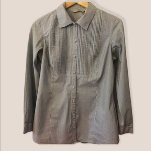 Signature by Larry Levine pleated blouse NWOT